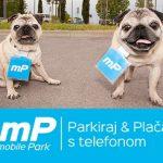 Plačevanje parkirnine z mobilno aplikacijo!