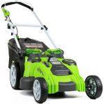 GreenWorks 25302 je ena izmed najbolj prodajanih brezžičnih kosilnic